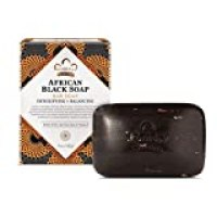 Nubian Heritage African Black Bar Soap with Oats and Aloe Vera,5 Ounce