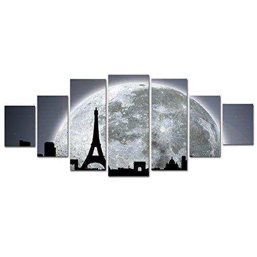 Enlightening Beautiful And Enchanting Moon Wall Art