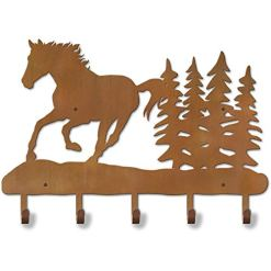 Running Horse Coat Rack