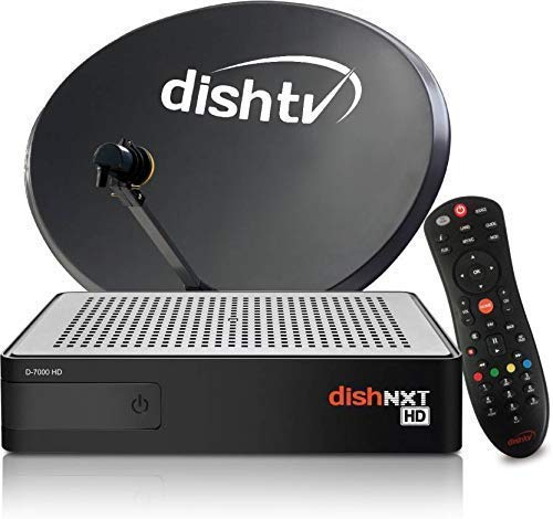 Dish TV HD Box with ONE Month Super Family HD Pack Hindi 164