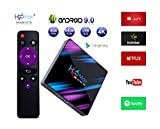 Systene H96 MAX Android TV Box H2 Colorful Edition 2GB/16GB Android 9.0 RK3318 17.3 4K TV Box 2.4G/5G WiFi LAN Bluetooth USB3.0 HDMI - Multicolor