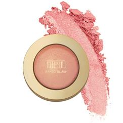 Milani Baked Blush – Bella Bellini (0.12 Ounce) Vegan, Cruelty-Free Powder Blush – Shape, Contour & Highlight Face for a…