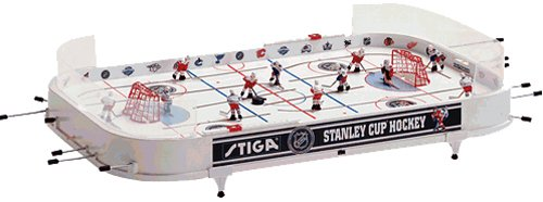 NHL Stanley Cup Hockey Table Game (Detroit Red Wings / Toronto Maple Leafs)