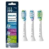 Genuine Philips Sonicare replacement toothbrush head variety pack - Premium Plaque Control, Premium Gum Care &  Premium White, HX9073/65, BrushSync technology, White 3-pk