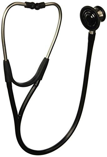 Welch Allyn 5079-125 Harvey Elite Stethoscope, 28', Black