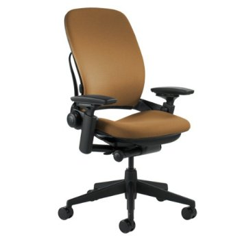 Steelcase Leap Camel Fabric Chair