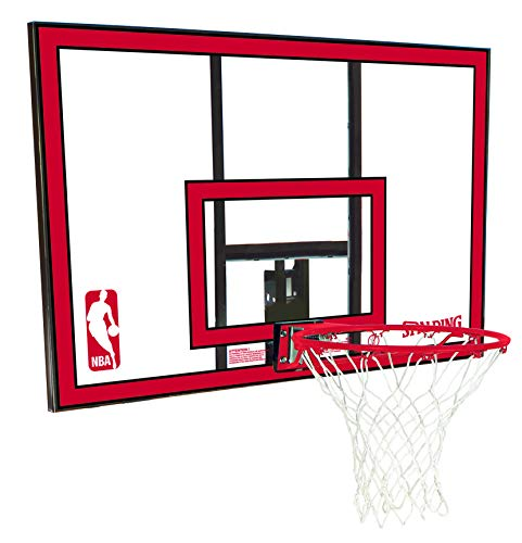 Spalding 79351 Backboard/Rim Combo with 44 Inch Poly Carbonate...