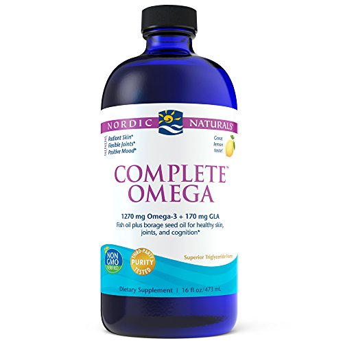 Nordic Naturals Complete Omega - Supports Healthy Skin, Joints, and Cognition, 16 Liquid Ounces