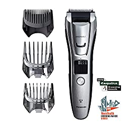 Panasonic Body and Beard Trimmer for Men ER-GB80-S, Cordless/Corded Hair Clipper, 3 Comb Attachments and 39 Adjustable Trim Settings, Washable  Image