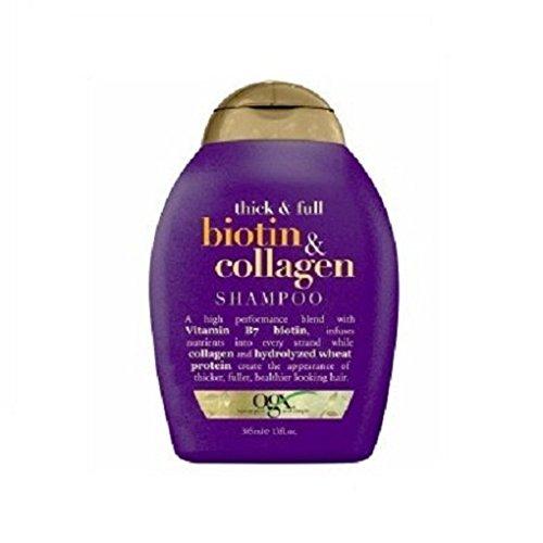 Ogx Shampoo Biotin & Collagen 13 Ounce (384ml) (3 Pack)
