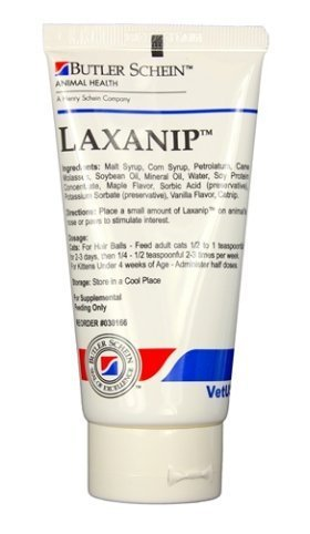Laxanip For Cats, 3 oz. Tube by Butler