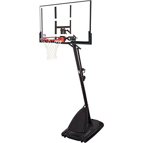 Spalding Pro Slam Portable NBA 54' Angled Pole Backboard Basketball System