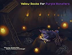 "cover of ""Yellow Socks for Purple Monsters"" by Teresa Heihn"