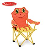 Melissa & Doug Sunny Patch Clicker Crab Folding Beach Chair for Kids