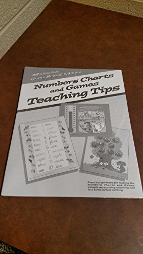 Numbers Charts and Games Teaching Tips