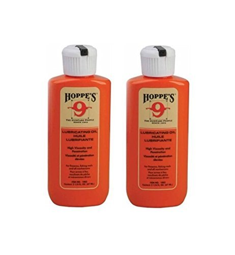 (2-Pack) Hoppes No. 9 Lubricating Oil, 2-1/4 oz....