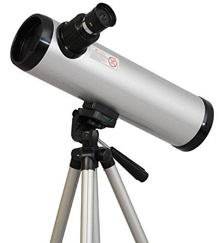 Twinstar 76mm Cassegrain Kids Telescope (Silver) by Twin Star