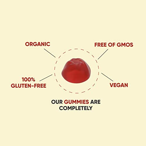 World's First Apple Cider Vinegar Gummy Vitamins by Goli Nutrition - Immunity, Detox & Weight (3 Pack, 180 Count, with The Mother, Gluten-Free, Organic, Vegan, Vitamin B9, B12, Beetroot, Pomegranate) 7