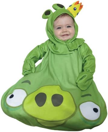 Amazon Com Halloween Fx Angry Birds King Pig Infant Costume Toys Games