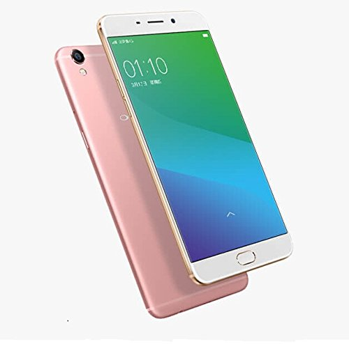 "Original OPPO R9 5.5"" MT6755 Octa Core 19201080P 4GB RAM 64GB ROM 2850mAh Battery VOOC quick charge Fingerprint 4G Cell Phone (Rose Gold)"