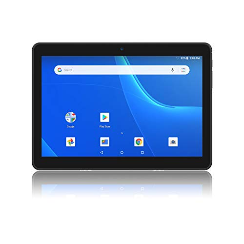 Hoozo Tablet, Android 8.1 Tablet PC, 10 Inch, Dual Band WiFi 2.4Ghz 5GHz, 1+16 GB, 1280X800 IPS Display, Google Certified, Dual Camera, Bluetooth, GPS – Black