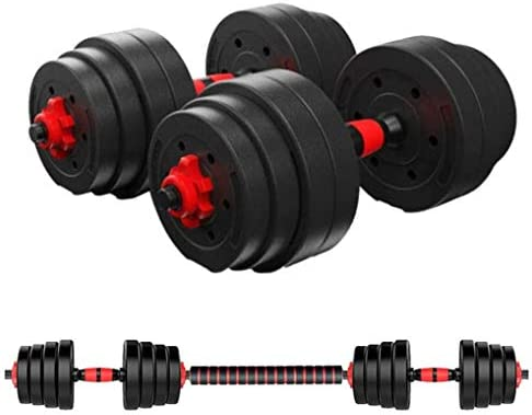 wkind olades 88LB Adjustable Dumbbell Pair, Dumbbell Combination Environmental Dumbbell Barbell for Strength Training, Weight Loss, Workout Bench, Gym Equipment, and Home Heavy Dumbbells 1