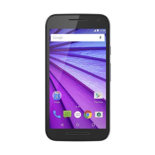 Motorola Moto G (3rd Generation) - Black - 8 GB - Global GSM Unlocked Phone