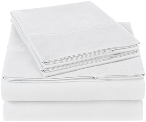 Pinzon 300 Thread Count Organic Cotton Sheet Set - Queen, White