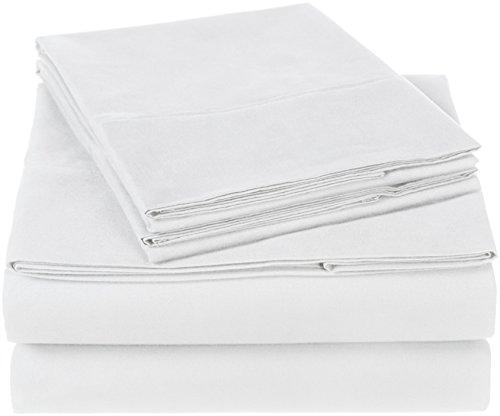 Pinzon 300 Thread Count Organic Cotton Sheet Set - Queen, White