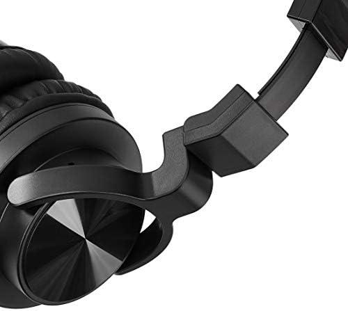 Amazon Basics Over-Ear Studio Monitor Headphones - Black 14