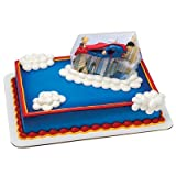 Superman Cake Topper Decorating Set