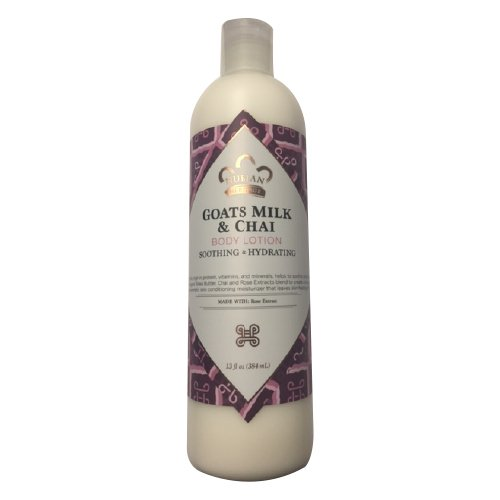 Nubian Heritage Lotion, Goats Milk and Chai, 13 Ounce