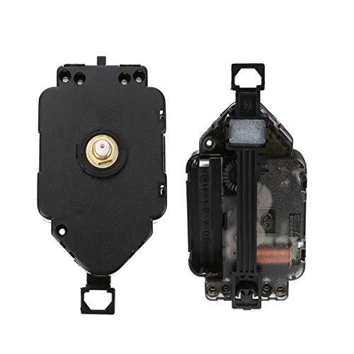 NaroFace Replacement Quartz Pendulum Clock Movement Mechanism Motor Accessory - Black