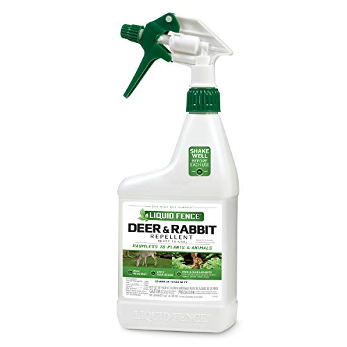 Liquid Fence Deer & Rabbit Repellent Ready-to-Use, 32-Ounce