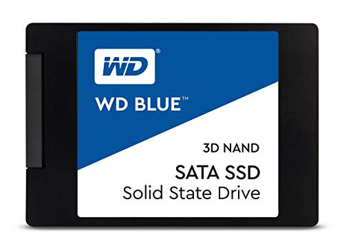 Western Digital Blue 3D NAND 250GB PC SSD - SATA III 6 Gb/s, 2.5'/7mm - WDS250G2B0A