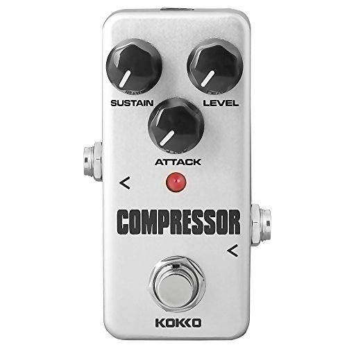 kokko Acoustic Guitar Effect Pedal, Compressor (FCP2)