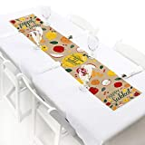 Big Dot of Happiness Sukkot - Petite Sukkah Jewish Holiday Paper Table Runner - 12 x 60 inches