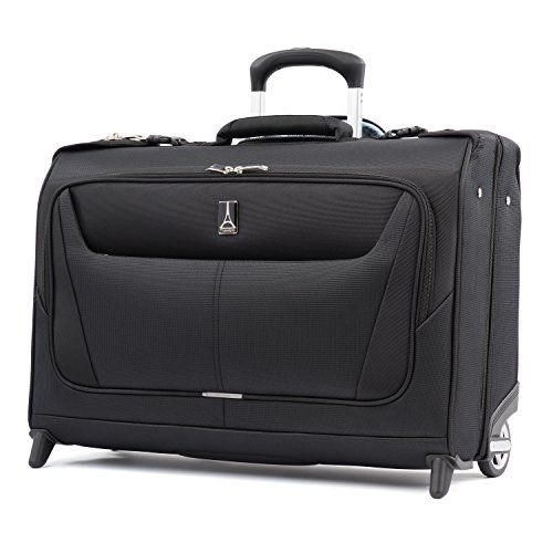 Travelpro Luggage Maxlite 5 22' Lightweight Carry-on Rolling Garment Bag, Suitcase, Black