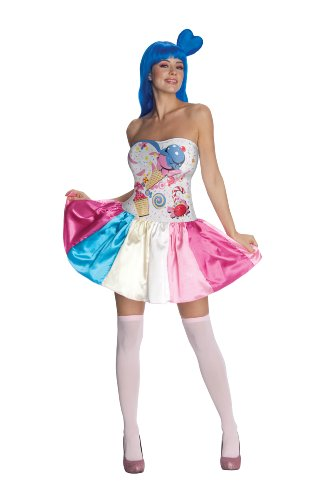 Rubie's Costume Co Katy Perry Candy Girl Costume, Multi, Large