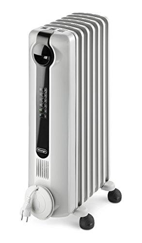 DeLonghi TRRS0715E Radia S Eco Digital Full Room Radiant Heater with Silent Operation