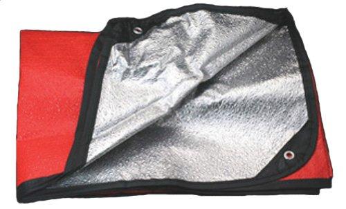 Grabber Outdoor Space 127008 All Weather Blanket, Orange,5 X 7 Feet