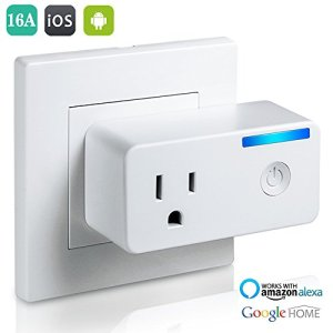 Bropang Wi-Fi Smart Plug with Energy Monitoring, No Hub Required, Works with Amazon Alexa Echo and Google Assitant
