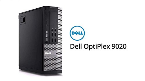 41LWfzzBt5L - Dell Optiplex 9020 Small Form Factor Desktop - Speedy i7-4770 3.40 GHz CPU (4th Gen) - 8GB RAM - Ultra Fast 256GB SSD - Windows 10 Professional (Renewed)