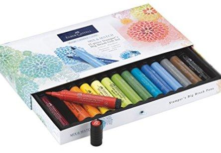 Faber-Castell Stamper's Big Brush Pen Gift Set – 15 Big Brush PITT Artist Pens