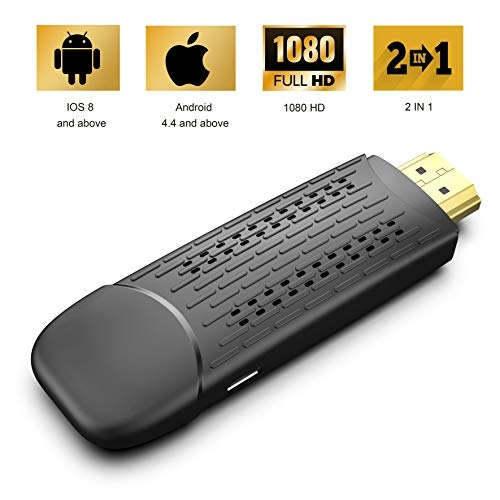 Display Dongle Support Wireless and Wired 2 in 1...