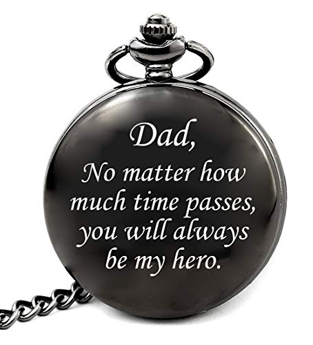 Dad Gifts for Birthday from Son, Dad No Matter How Much Times Passes You Will Always Be My Hero
