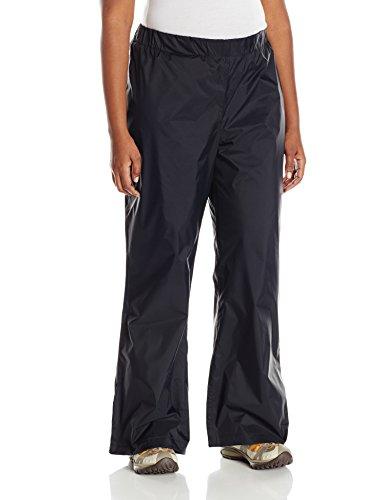 Columbia Plus Size Women's Storm Surge Waterproof Rain Pant, Black, 3X Regular
