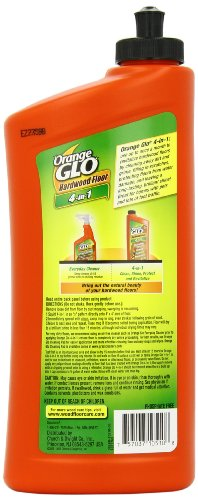 Orange Glo Hardwood Floor 4-in-1 Monthly Polish,...