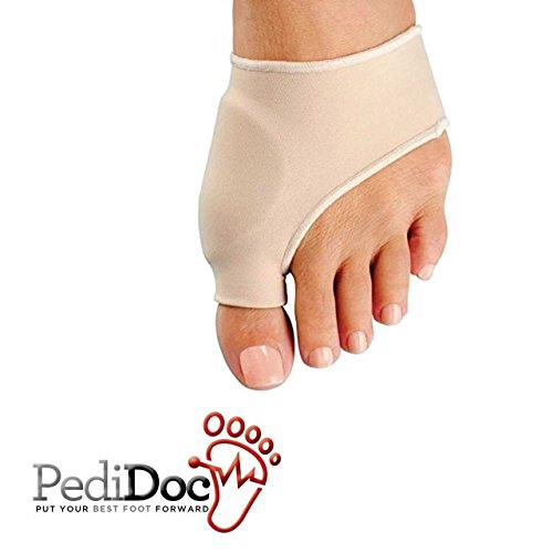 Bunion Corrector and Bunion Relief Sleeve with Gel Bunion Pads Cushion Bunion Protector - Bunion Bootie Provides Great Protection and Treatment for Hallux Valgus Bunion Pain (Medium)