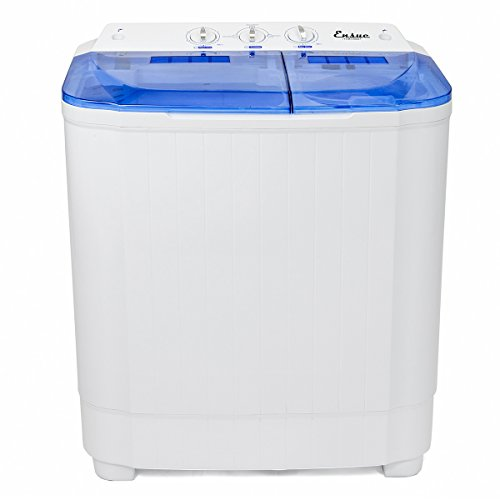 Mini Camping Portable Washer Electric With Spin Cycle 8 LBS Laundry Load